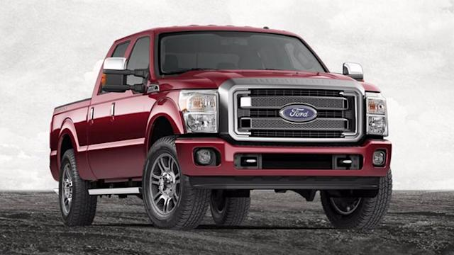 Ford F-250 is the most stolen vehicle