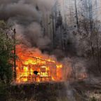Fire levels much of small Northern California town