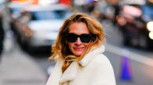 Julia Roberts wraps herself in cozy teddy bear coat in NYC: Shop 12 versions for less