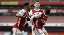 Bukayo Saka and Nicolas Pepe fire Arsenal to victory