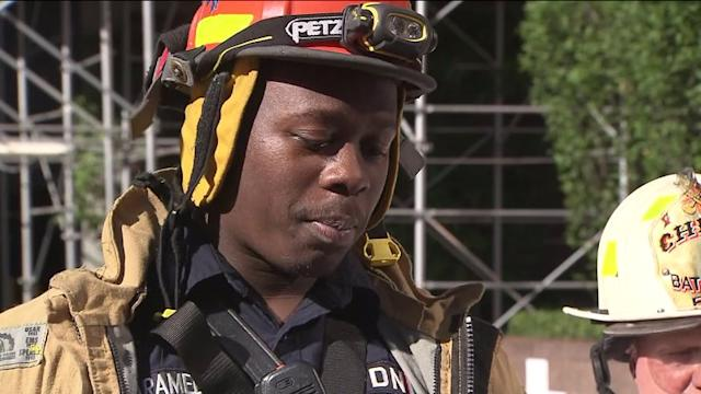 NYC Firefighters Recount Trapped Window Washers Rescue