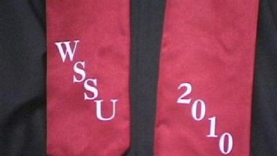 WSSU Holds Fall Commencement