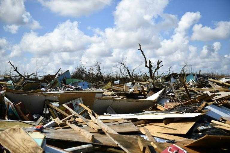 Failure to curb greenhouse gas emissions slow-roasting the planet has already unleashed a crescendo of superstorms made more destructive by rising seas, with the Bahamas devastated this month by one of the strongest Atlantic storms on record (AFP Photo/Brendan Smialowski)