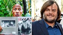 Jack Black Joins Dwayne Johnson in 'Jumanji' Remake