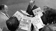 The difference 44 years make: how the UK press said goodbye to Europe