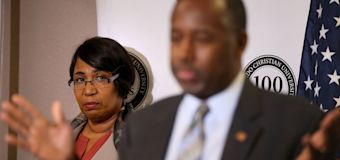 Ben Carson blames wife for $31K dining set