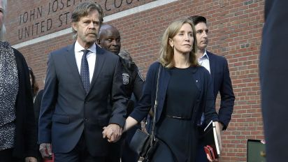 Is Felicity Huffman's jail sentence fair?