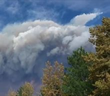 CalWood Fire Emits Huge Smoke Plume Near Boulder, Colorado