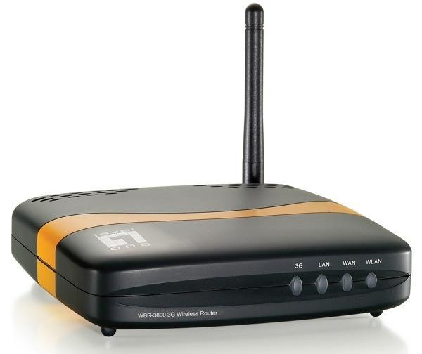 Level One MobilSpot portable router shares 3G data over WiFi