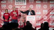 Nevada culinary union, in spat with Sanders, says it won't endorse a candidate