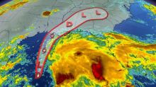 A growing tropical storm in the Gulf could bring heavy rain to Atlantic Canada