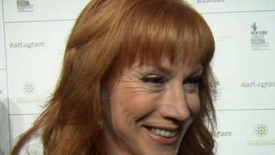 Kathy Griffin Won't Hold Back At The New York Comedy Festival