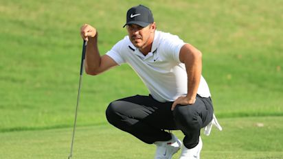 Koepka will have to fight pain to extend streak
