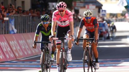 Giro d'Italia 2017: Leading Dumoulin struggling during 19th stage