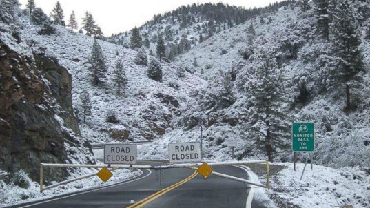 Nearly 3 feet of snow for California mountains