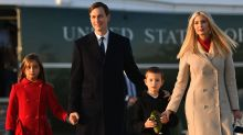 Ivanka Trump removes kids from school after 'COVID complaints'