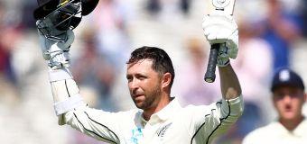 Cricket fans erupt over Kiwi debutant's slice of history