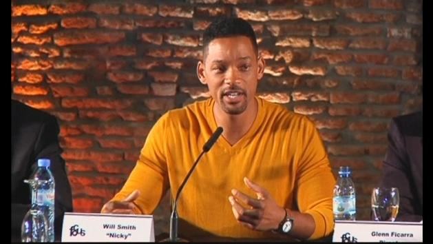 Will Smith and Margot Robbie ignore rumours