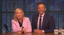Amy Poehler and Seth Meyers react to James Comey tweet with 'SNL' classic