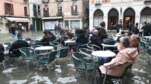 Venice hit by record 3rd exceptional tide