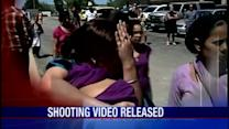 Police video released in temple shooting