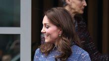 Mira como luce Kate Middleton en la recta final de su embarazo