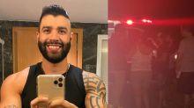"""Gusttavo Lima se envolve em acidente com ciclista: """"Estou muito tenso"""""""