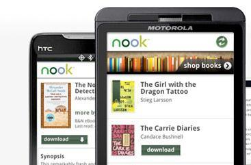 Nook for Android now available to download, offers eBook lending
