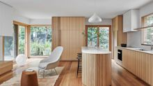 採用溫潤木質為材料,創造輕盈活力的居家空間
