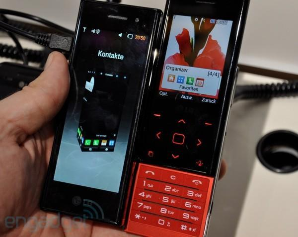 LG BL20 hands-on: putting the 'slider' back in 'Chocolate'