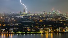 In pictures: Skies above the UK lit up overnight during the 'mother of all thunderstorms'