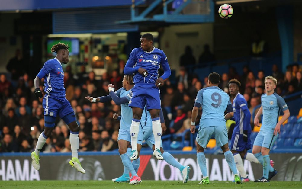 Trevoh Chalobah opens the scoring - Rex Features