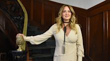 """Andrea Legarreta revela que tiene neumonía y está en el hospital: """"No tengo nada grave, no estoy delicada"""""""