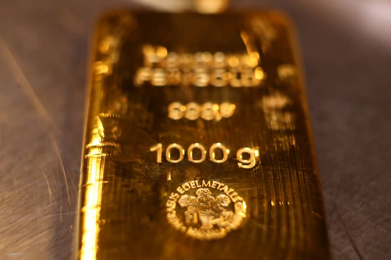 Gold jumps to four-month peak as Middle East tensions spark safety buying