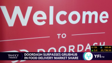 DoorDash is the new food delivery leader
