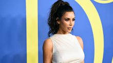 Kim Kardashian Wore Her Hair in a Wavy Ponytail at the 2018 CFDA Awards