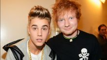 Ed Sheeran once hit Justin Bieber in the face - with a golf club