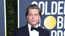 Brad Pitt and Jennifer Aniston Reunited at a Golden Globes After-Party