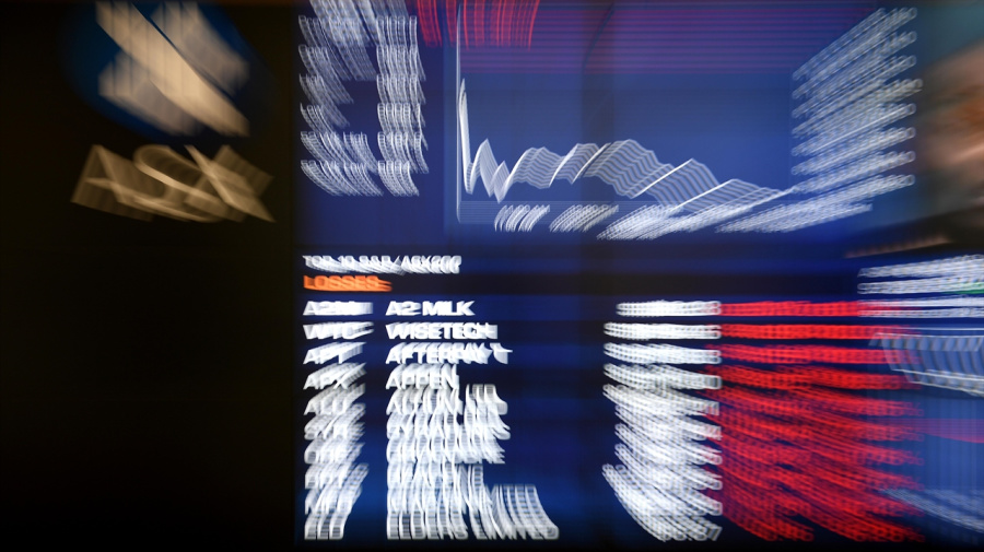 Red reigns as ASX tumbles at the open