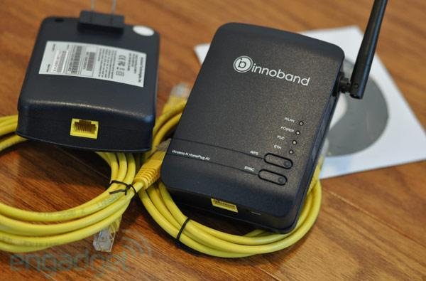Innoband HomePlug AV+802.11n AP Starter Kit review