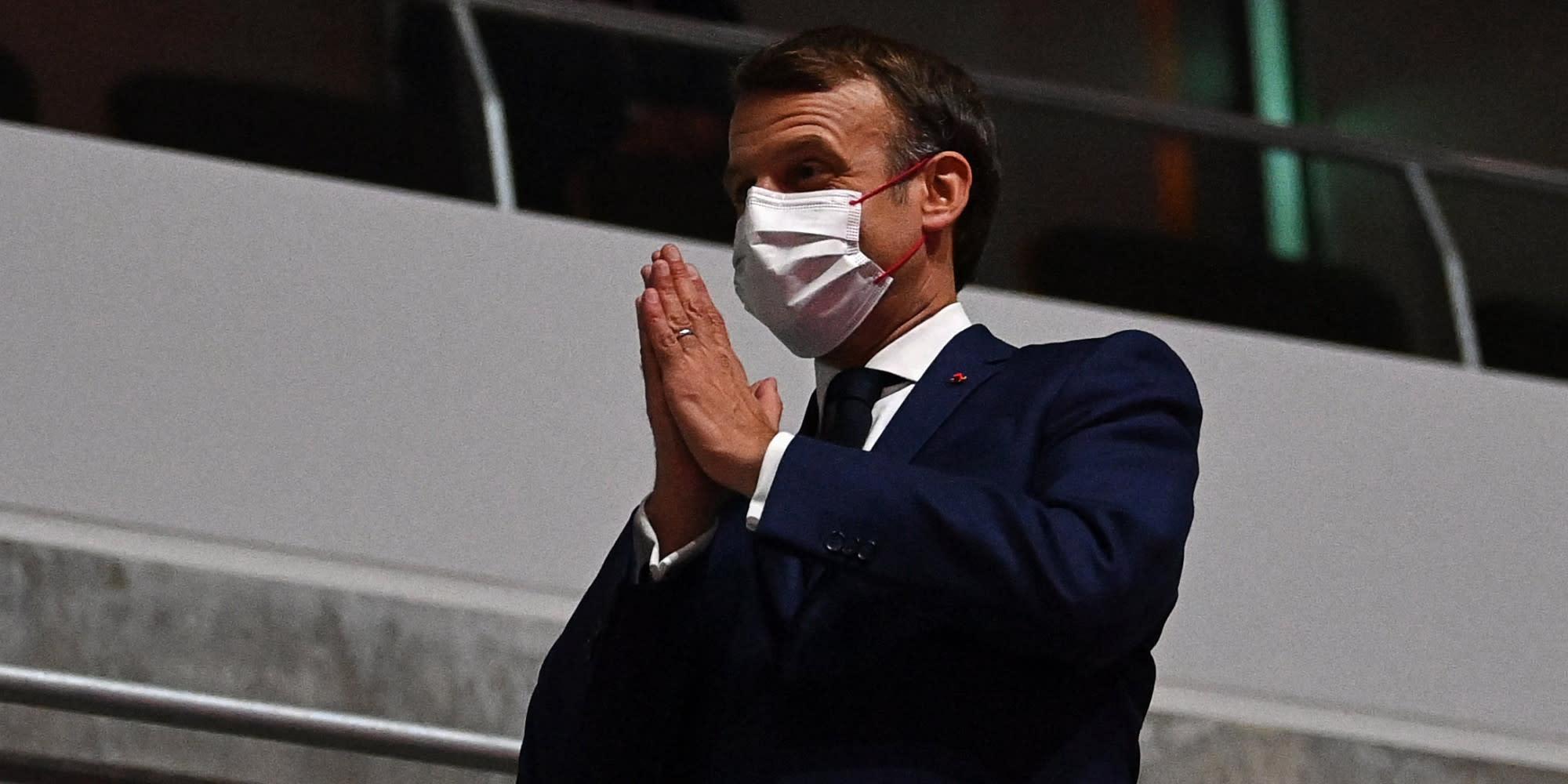 """Macron : le Japon a eu """"raison de maintenir ces Jeux olympiques"""""""
