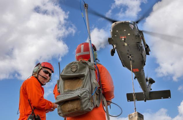 Helicopter drones are ready to drop driverless vehicles into danger zones