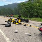 7 Dead in Collision With Several Motorcycles and a Pickup Truck