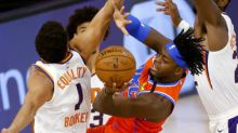 Booker's 35 help Suns top Thunder, remain perfect in restart