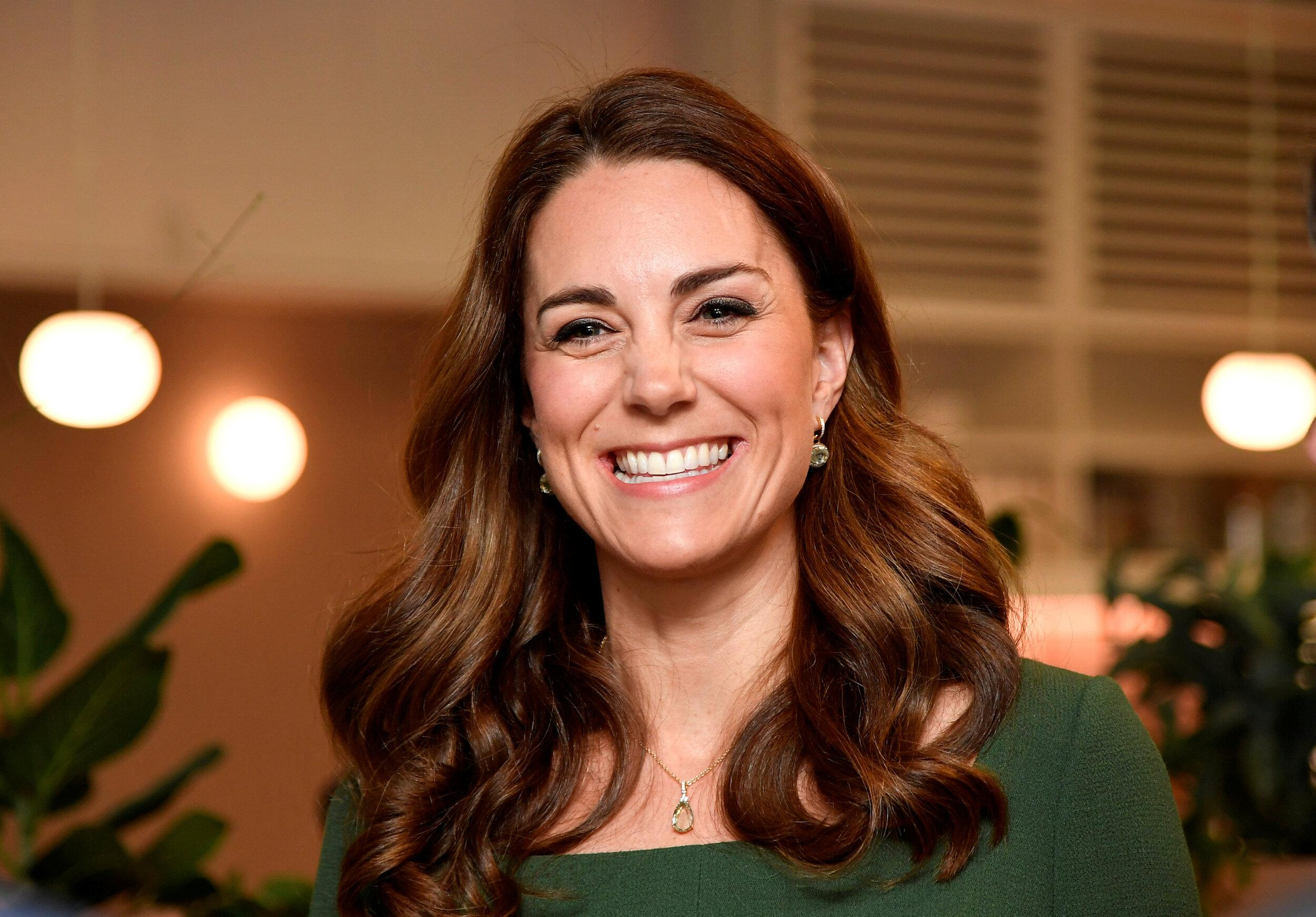 Britain's Catherine, Duchess of Cambridge arrives to visit the Anna Freud National Centre for Children and Families in London on May 1, 2019. (Photo by TOBY MELVILLE / POOL / AFP)        (Photo credit should read TOBY MELVILLE/AFP/Getty Images)