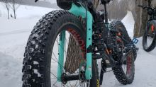 'You're completely alone': Fat-bike riders ride by night in annual Saskatchewan race