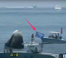Boaters, one flying a Trump flag, swarmed SpaceX's historic landing on Sunday and endangered NASA astronauts — and they'll never be punished