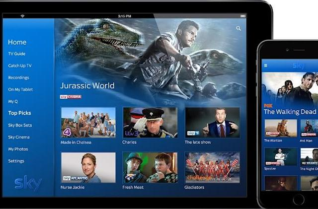 Sky Q smartphone app lets you take your recordings with you