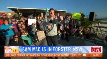 Sam Mac's weather at 6:30