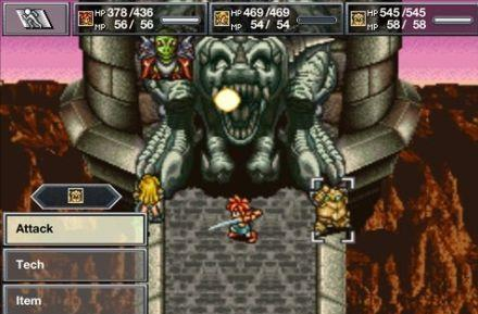 Chrono Trigger screenshots out, with touch controls and redone menus
